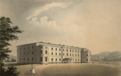 Perspective Elevation of the General Infirmary at Sheffield